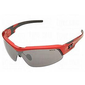 NYX Pro Z17 Sunglasses - Red Frame/Black Logo