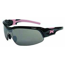 NYX Pro Z17 Sunglasses - Black Frame/Pink Logo