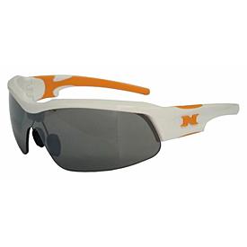 NYX Pro Z17 Sunglasses - White Frame/Orange Logo
