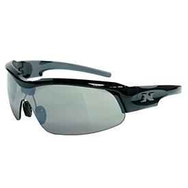 NYX Pro Z17 Sunglasses - Black Frame/Silver Logo