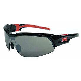 NYX Pro Z17 Sunglasses - Black Frame/Red Logo