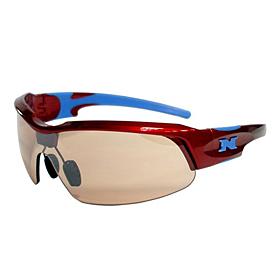 NYX Pro Z17 Sunglasses - Red Frame/Blue Logo