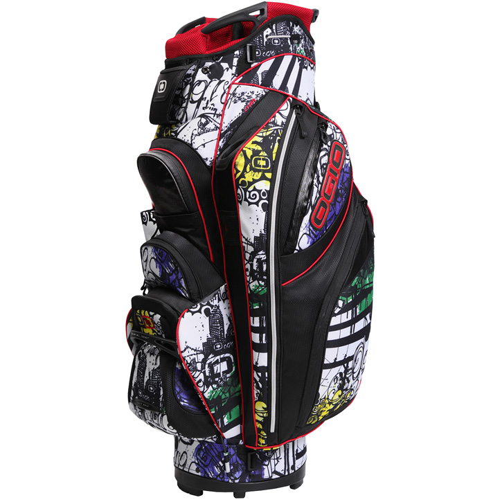 Ogio Itza Cart Bag - Graffiti - Limited Edition