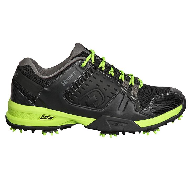 Ogio Sport Golf Shoes - Black/Acid