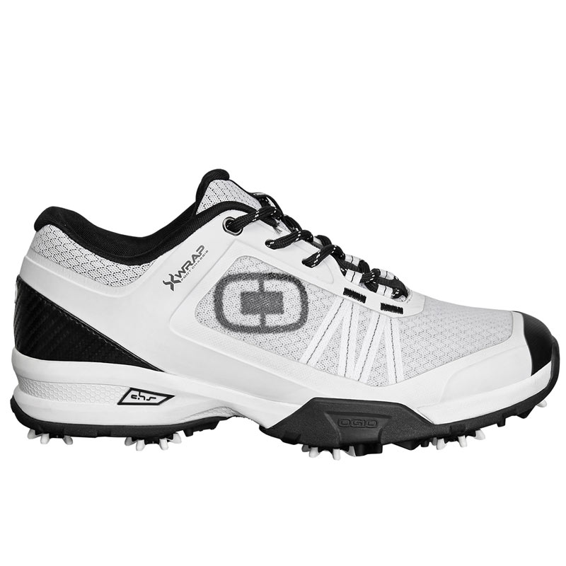 Ogio Sport Spiked Golf Shoes - White/Black