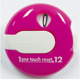 One Touch Reset Counter - Pink