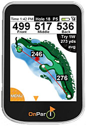 OnPar Golf GPS with Touchscreen