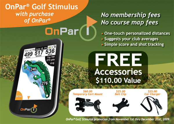 OnPar Golf GPS