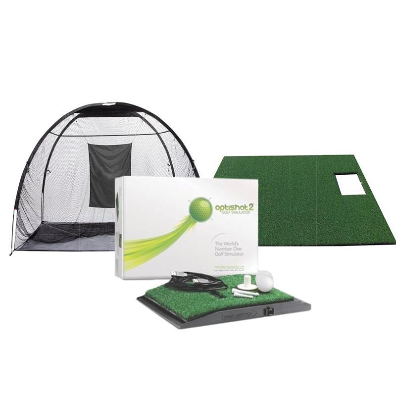 Optishot 2 Golf In A Box - Golf Simulator