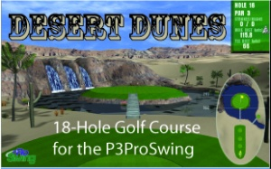 P3Pro Desert Dunes 18-Hole Golf Course