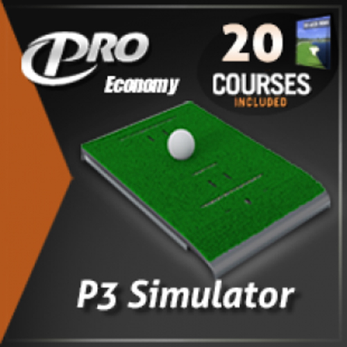 P3Pro Swing Pro Economy Golf Simulator Package