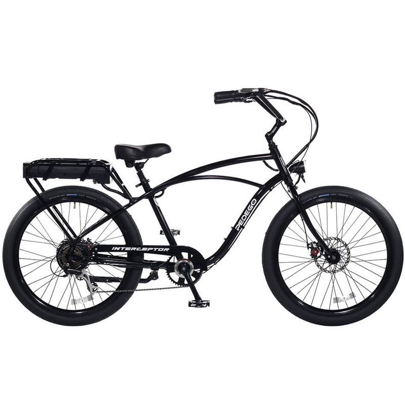 2019 Pedego Classic Interceptor III Electric Bicycle - Black