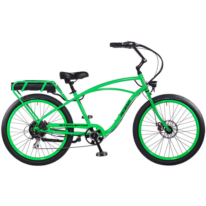 2019 Pedego Classic Interceptor III Electric Bicycle - Lime Green