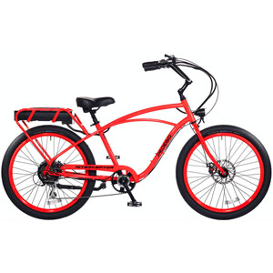 2019 Pedego Classic Interceptor III Electric Bicycle - Neon Orange