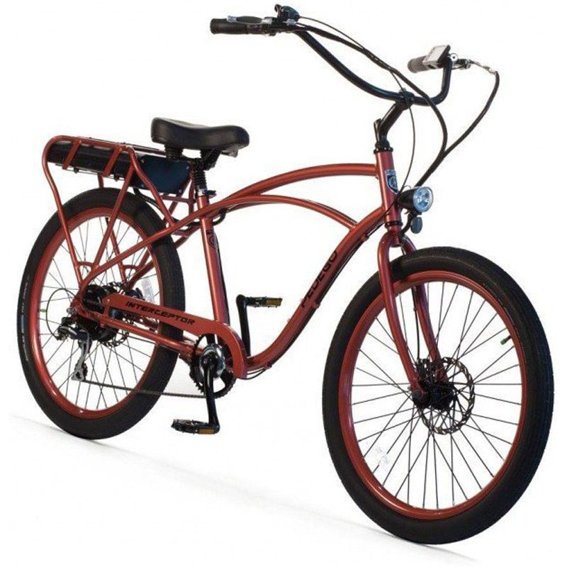 2019 Pedego Classic Interceptor III Electric Bicycle - Sandstone