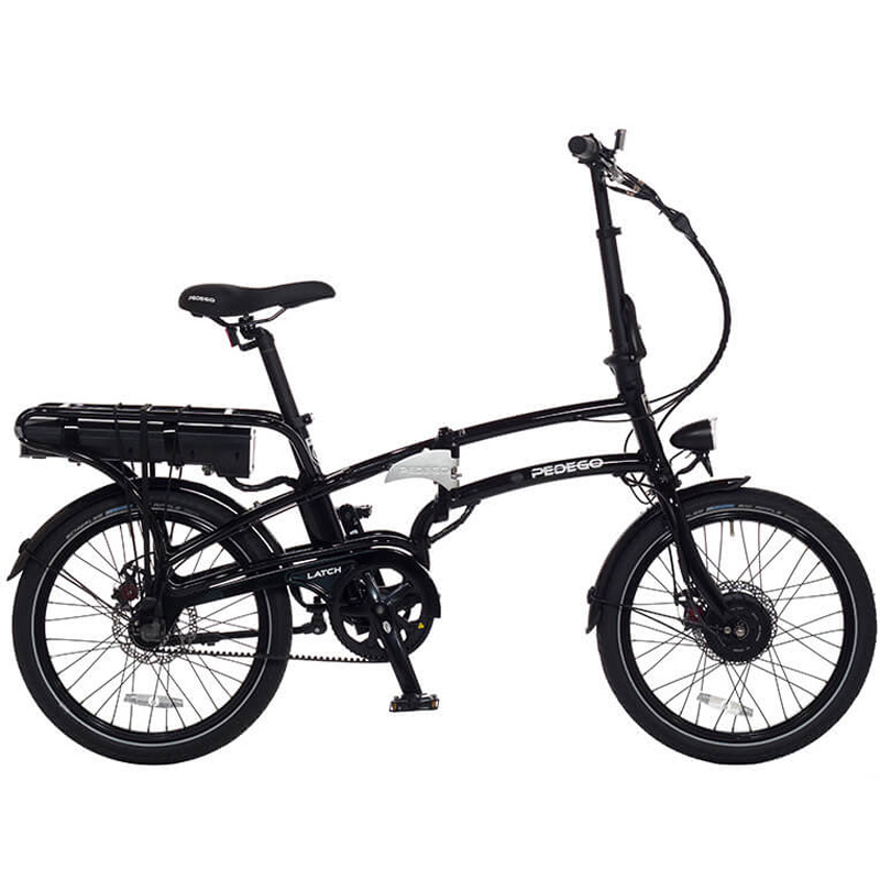 2019 Pedego Latch Folding Electric Bicycle - Black
