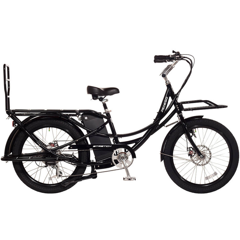 2019 Pedego Stretch Electric Cargo Bike - Black