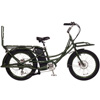 2016 Pedego Stretch Electric Cargo Bike - Olive