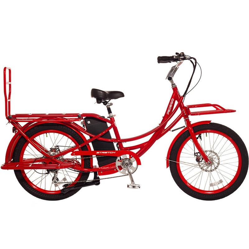 2019 Pedego Stretch Electric Cargo Bike - Red