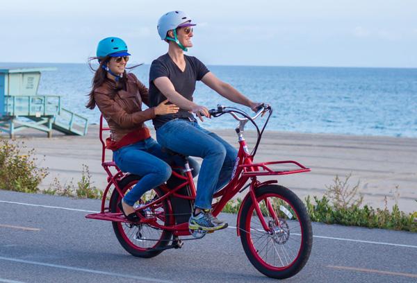 2018 pedego stretch electric cargo bike olive at. Black Bedroom Furniture Sets. Home Design Ideas