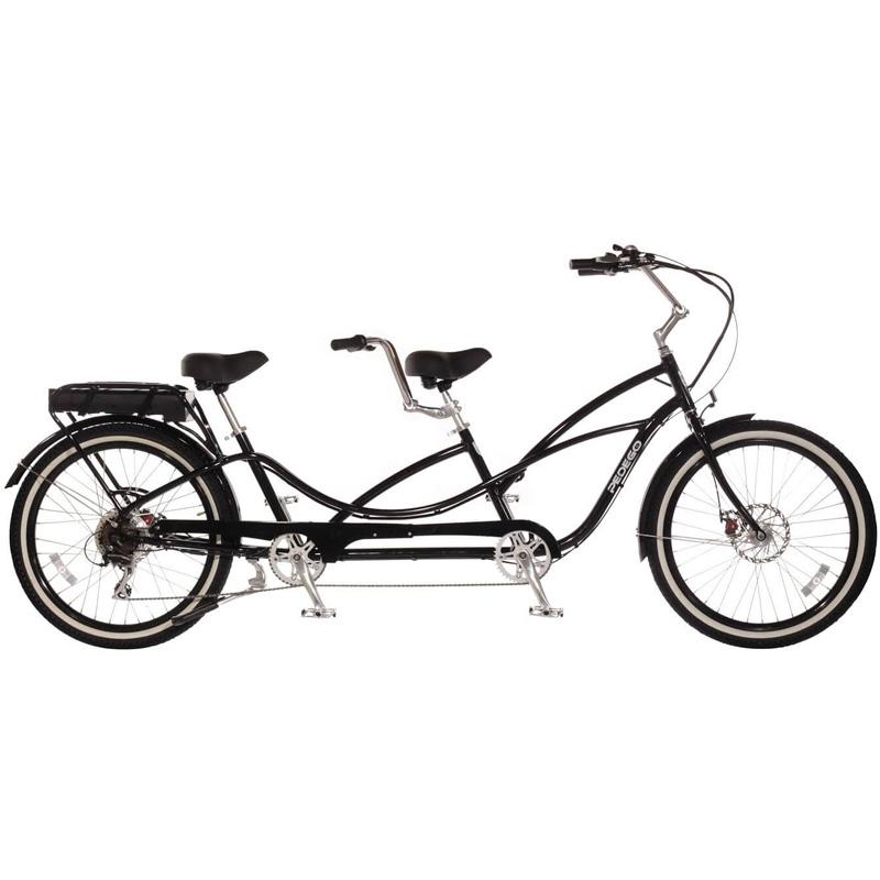 2019 Pedego Tandem Electric Bicycle - Black