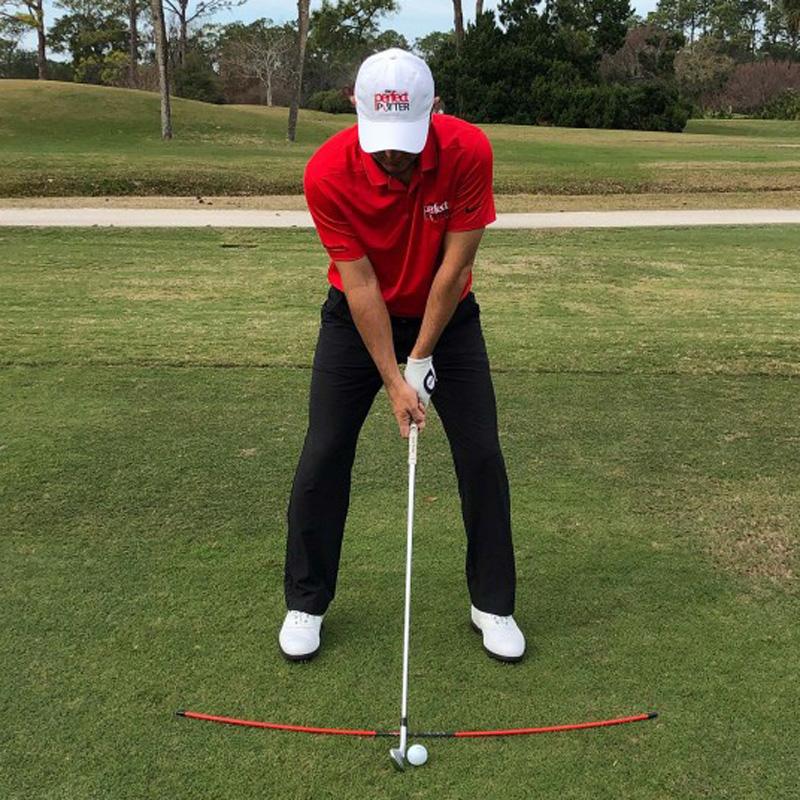 Perfect Putter - Full Swing Arc - Golf Training Aid