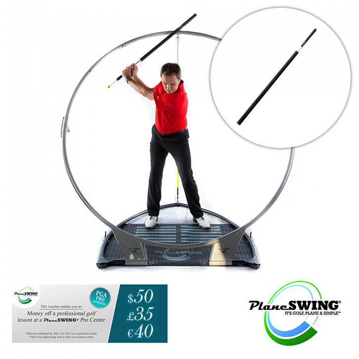 PlaneSWING Golf Swing Trainer Birdie Package
