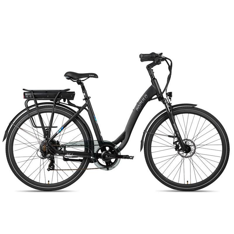 Populo Lift V2 Step Thru Electric Bicycle - Black