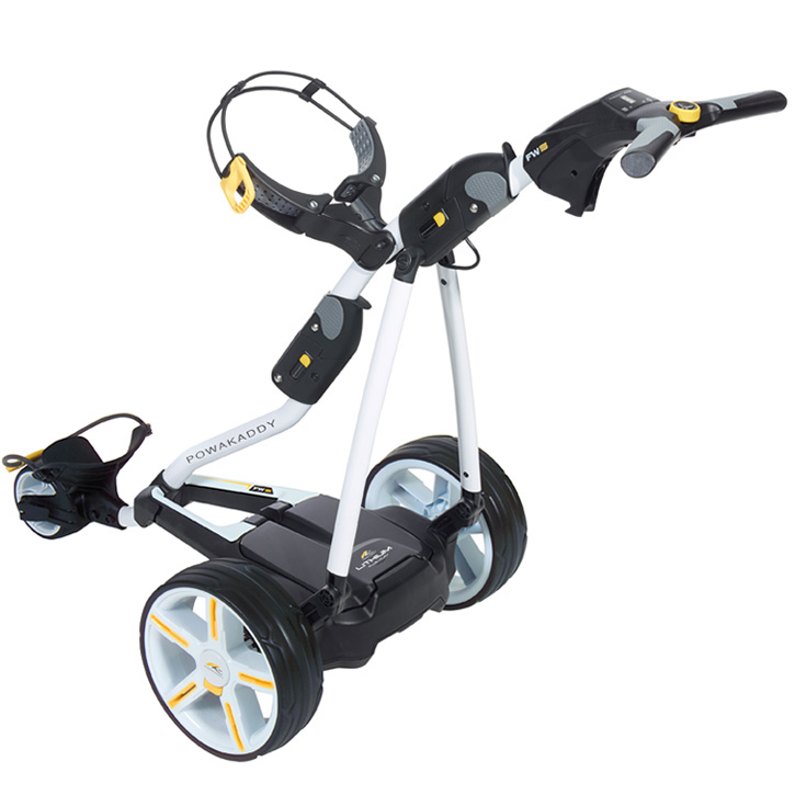 Powakaddy Fw5 Lithium Electric Golf Push Cart At