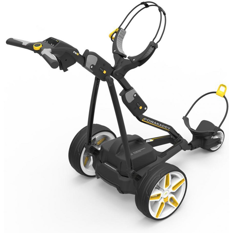 Powakaddy Fw5i Lithium Electric Golf Push Cart At