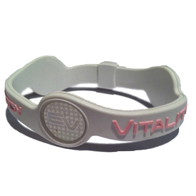 Energy and Vitality Band - White/Pink