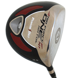 PowerBilt Air Force One Air Foil Driver - Senior Flex
