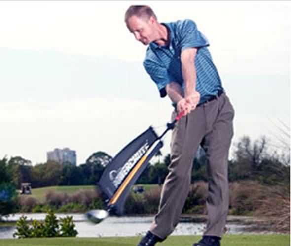 Powerchute Golf Swing Trainer