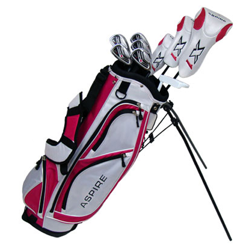 Aspire Golf X1 13 Piece Womens Golf Set - Pink