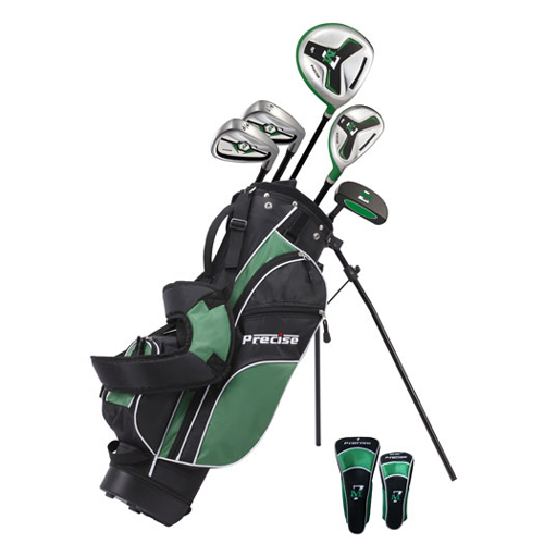 precise golf m7 8 piece junior golf set ages 6 8 at. Black Bedroom Furniture Sets. Home Design Ideas