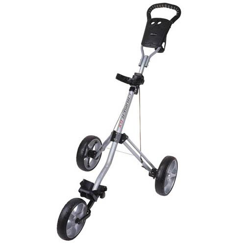 Precise Golf Cruiser GX Three Wheel Cart - Silver