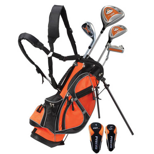 precise golf xdj 7 piece junior golf set ages 3 5 at. Black Bedroom Furniture Sets. Home Design Ideas