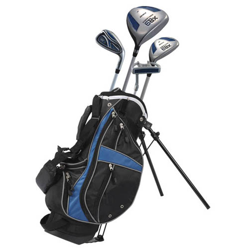 precise golf xr9 7 piece junior golf set ages 3 5 at. Black Bedroom Furniture Sets. Home Design Ideas