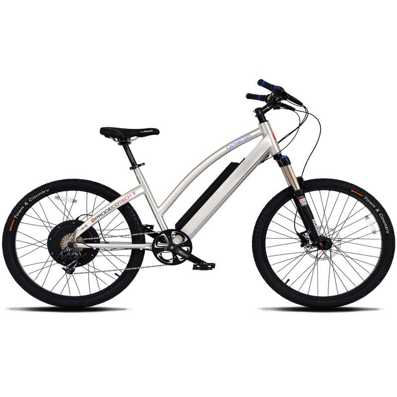 ProdecoTech Genesis V5 Electric Bicycle - Silver/Black