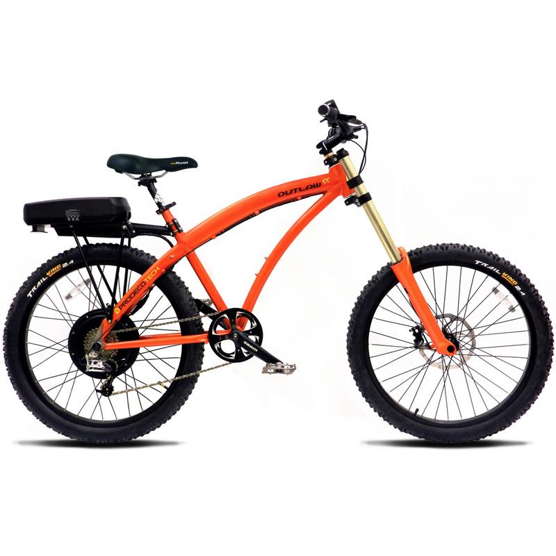ProdecoTech Outlaw SS V4 Electric Bicycle - Orange/Black
