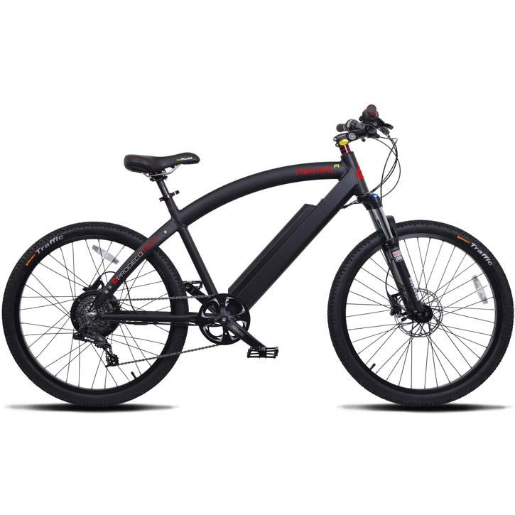 ProdecoTech Phantom X R V5 Electric Bicycle - Black/Black