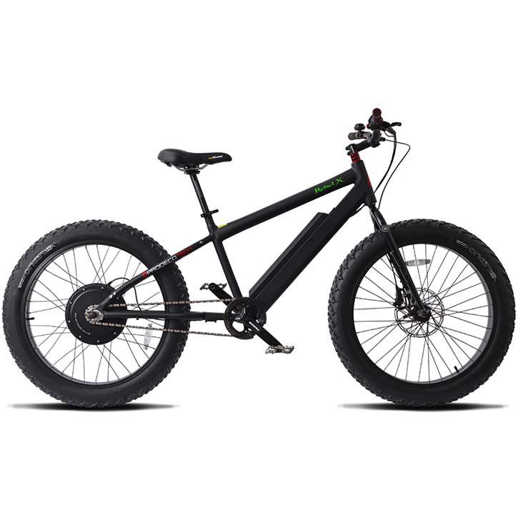 ProdecoTech Rebel X V5 Electric Bicycle - Black/Black
