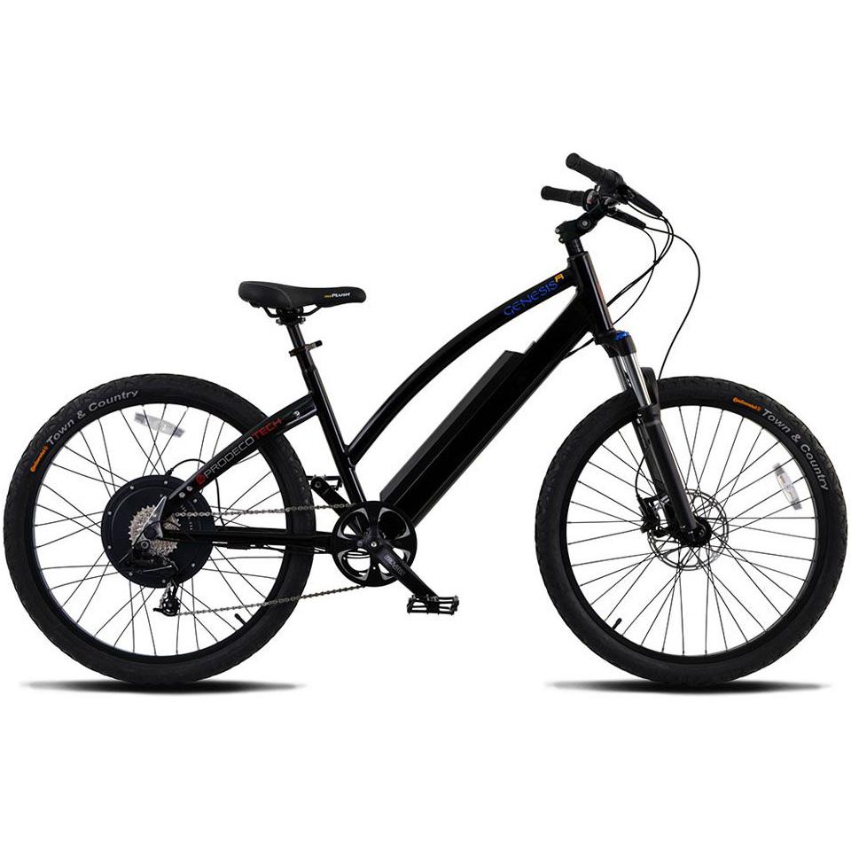 ProdecoTech Genesis R 400 Electric Bicycle - Black