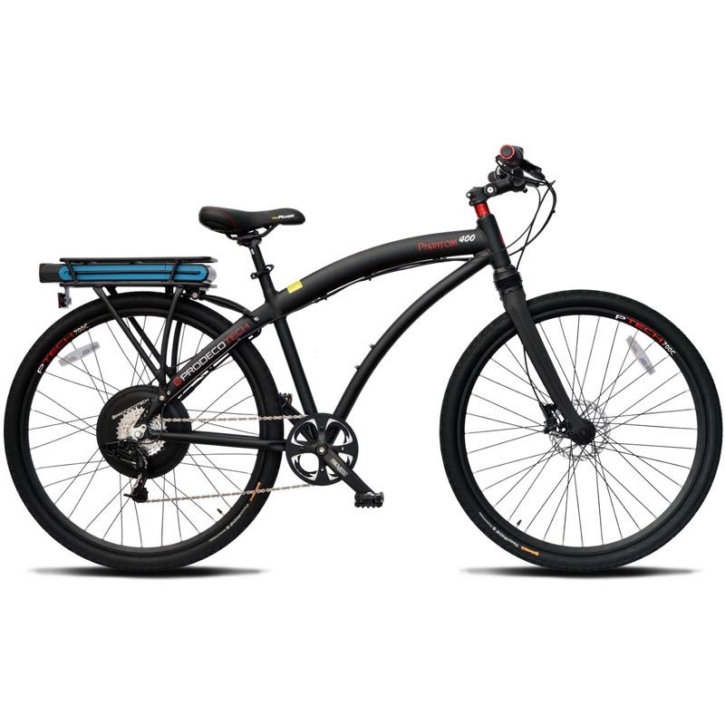 ProdecoTech Phantom 400 M MonoShock Electric Bicycle - Black