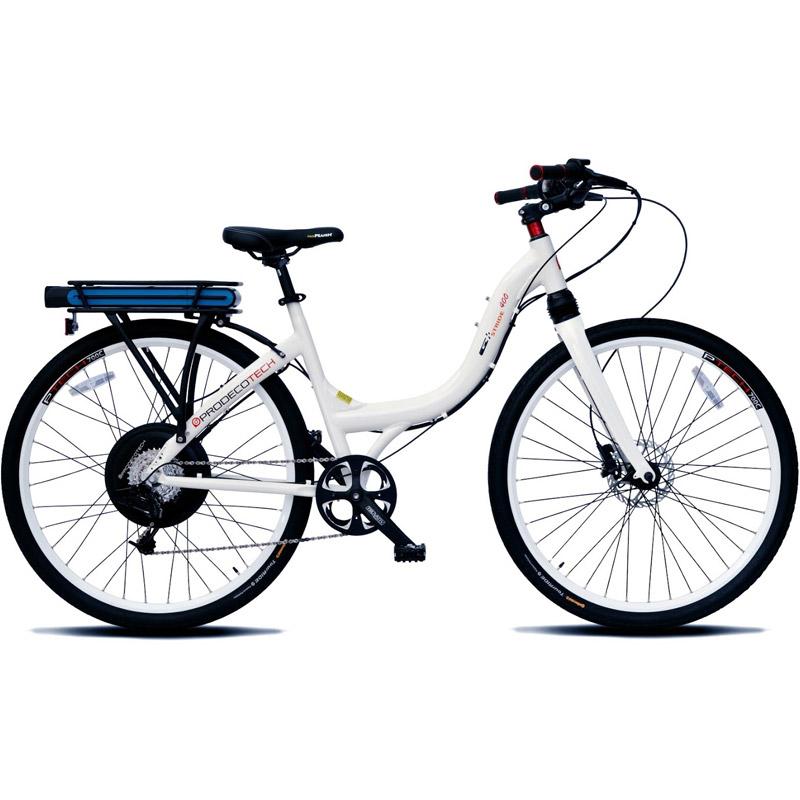ProdecoTech Stride 400 M MonoShock Electric Bicycle - White