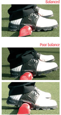 prostance golf training aid