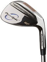 PureSpin Diamond Face Wedge - Black Chrome