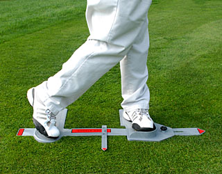 Power Stance Golf Swing Trainer