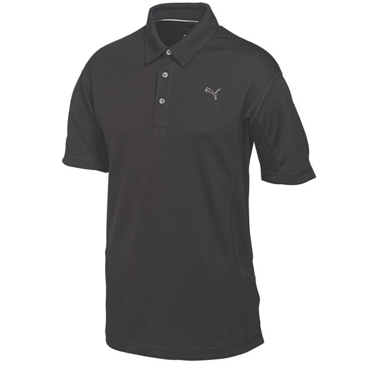 Puma Golf Tech Polo - Mens Black