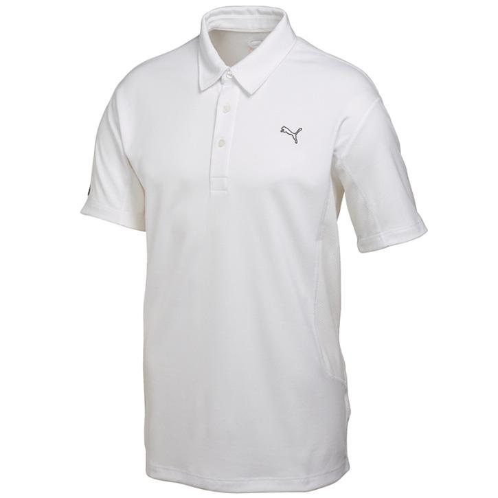 Puma Golf Tech Polo - Mens White